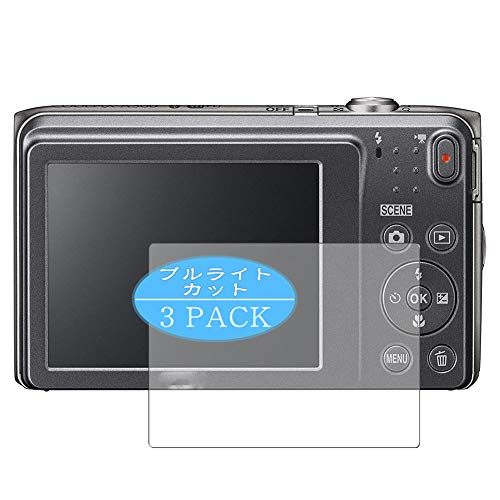 VacFun 3 Pezzi Anti Luce Blu Pellicola Protettiva, Compatibile con Nikon COOLPIX A300 (Non Vetro Temperato) Protezioni Schermo Cover Custodia New Version