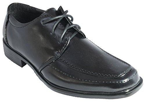 Festliche Kinder Halbschuhe schwarz Kinderschuhe Schnürschuhe 31