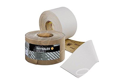 Indasa RHYNALOX Schleifpapier - Rolle (P40 - P400) - 75mm x 50m / 1 Stück (Körnung: P80)