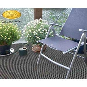 Reimo – Alfombra de suelo para caravana, camping, bares, arisol PVC, 4,50 x 2,5 m, color gris