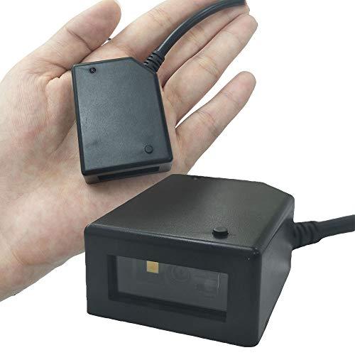 Xyfw Lecteur De Codes À Barres CCD / 2D / QR Scanner De Codes-Barres USB Série RS232 Mini Module De Numérisation Automatique pour Kiosks Mobile Payment