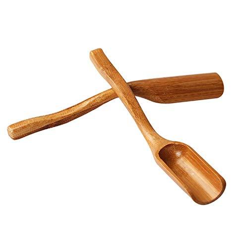 Jingyuu Teelöffel aus Bambus, chinesischer Stil, japanischer Tee, Teelöffel, Matcha, professionelles Werkzeug für Matcha, Geschenk 2,7 x 17 cm