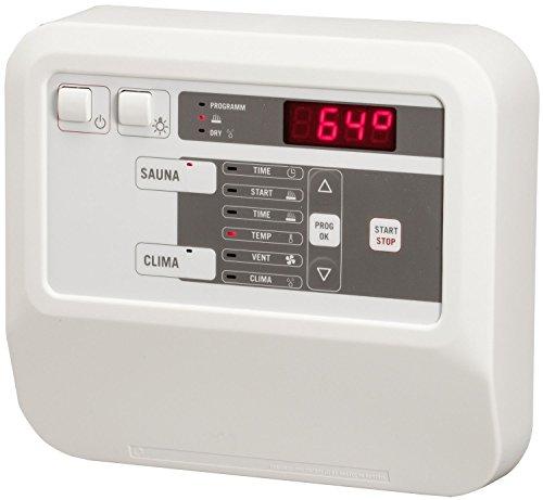 Sentiotec Sauna Steuergerät CK31 für Combi Saunaofen gewerblich mit Bankfühler