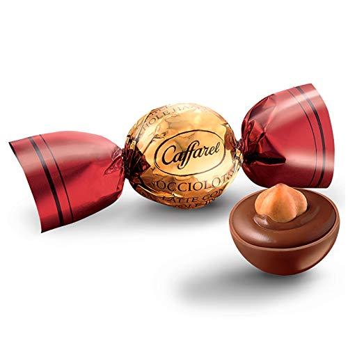 Bolas de chocolate con leche de Caffarel, avellana entera, 300 g, relleno