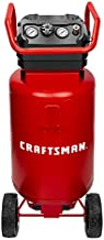 CRAFTSMAN Air Compressor, 20 Gallon, 1.8 HP, Oil-Free Air Tools, Max 175 PSI Pressure, 2 Quick Coupler, Long Lifecycle Low Noise, Model: CMXECXA0232043, Red