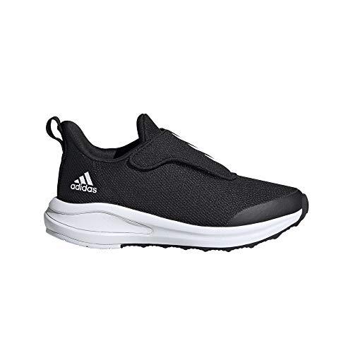 adidas Fortarun AC K, Zapatillas, NEGBÁS/FTWBLA/NEGBÁS, 33 EU