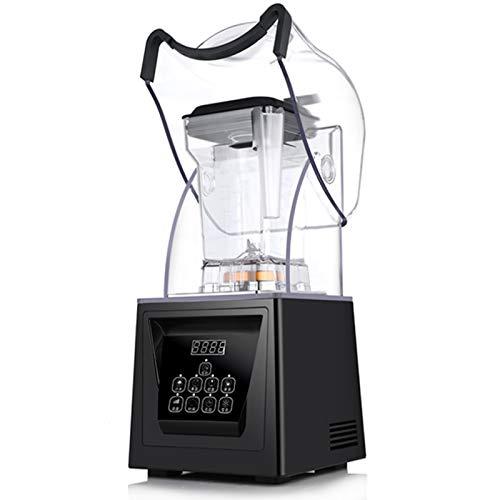 CSDY-Smoothie-Hersteller, High-Speed Professionelle Aufsatz- Blender for EIS, Shakes Und Smoothies, Nüsse Und Butter Vollautomatische Mute Cover/Smoothie Maschine/Eismaschine/Saft-Maschine