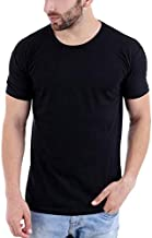Katso Men's Cotton Roundneck Half T-Shirt