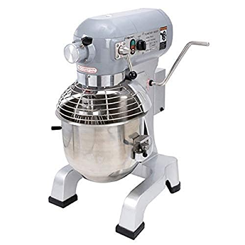 Adcraft BDPM-20 Gear-Driven 20-Quart Planetary Mixer, Stainless Steel, 120v