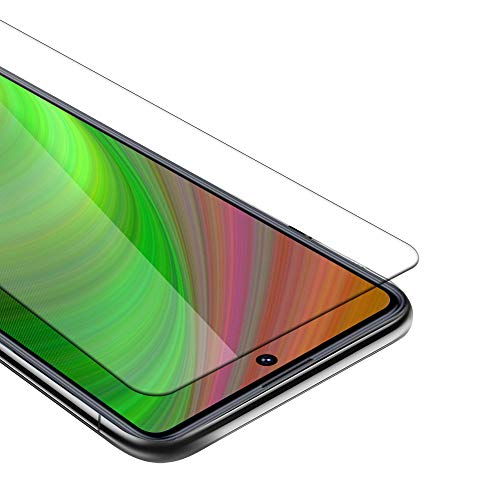 Cadorabo Película Protectora Compatible con Xiaomi Redmi Note 9 Pro/Note 9s en Transparencia ELEVADA - Vidrio Templado (Tempered) Cristal Antibalas Compatible 3D con Dureza 9H