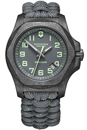 Victorinox INOX Herren Uhr analog Quarzwerk mit Armband V241861