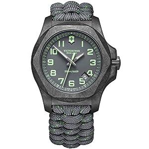 Victorinox INOX Reloj para Hombre Analógico de Cuarzo con Brazalete de