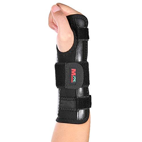 Medische Carpal Tunnel Polssteun Sprain Onderarm Splint Band Stra -Zwart