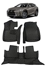 Full custom fit design with 3D scanned pattern, computerized cutting and hand crafted to ensure highest quality and precise fitting for your vehicle Made of PU leather exterior and sound deadening polyethylene foam filling for all weather and heavy d...