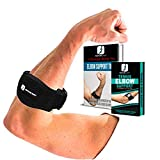 Elbow Support Brace for Men and Women, Tennis and Golfers Adjustable Lightweight Waterproof