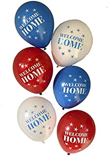 """Military Army CamoWelcome Home"""" Patriotic Latex Balloons 