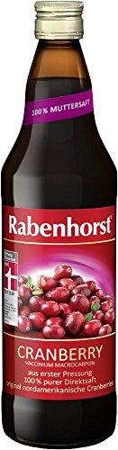 Rabenhorst Cranberry Muttersaft, 6er Pack (6 x 0.7 l)