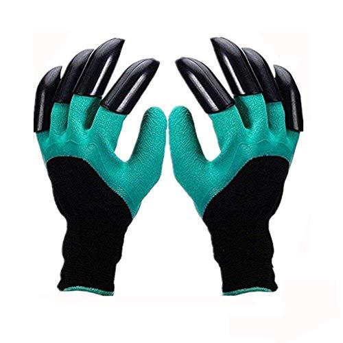 Garden Genie Handschuhe, wasserdichte Gartenhandschuhe mit Krallen, sicher zum Pflanzen, Graben und Jäten, 1 Paar