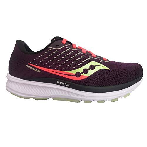 Saucony Women's Ride 13 Jackalope 2.0 Running Shoe - Color: Jackalope - Size: 8.5 - Width: Regular