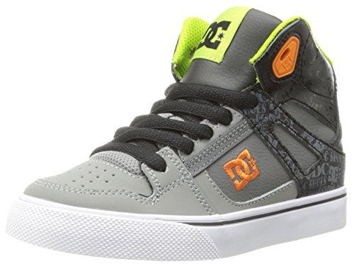 DC Shoes Jungen Spartan High Se top, Schwarz (Noir (0Bg), 37 EU