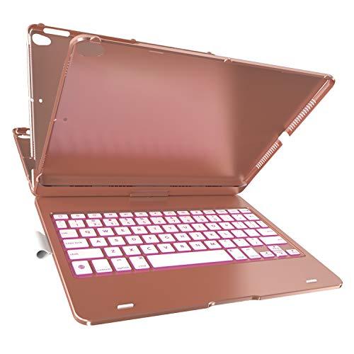 typecase KB201N-102RSE-B-B0 Keyboard Case for iPad 10.2-Inch/iPad 10.5-Inch/iPad Air 10.5-Inch (Rose Gold)