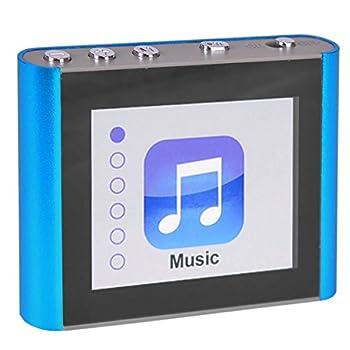 ECLIPSE Eclipse Fit Clip Plus BL 8GB 1.8 MP3 + Video Player  Blue