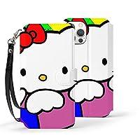 Hello Kitty ハローキティ iPhone12 ケース iPhone12 mini ケース iPhone12 Pro ケース iPhone12 Pro max ケース カード収納 レザーケース ICカード収納 おしゃれ かわいい 軽量 スタンド機能 耐衝撃 滑り防止 高級PUレザー 携帯カバー カメラ保護 傷防止(6.1インチ/5.4インチ/6.7インチ)