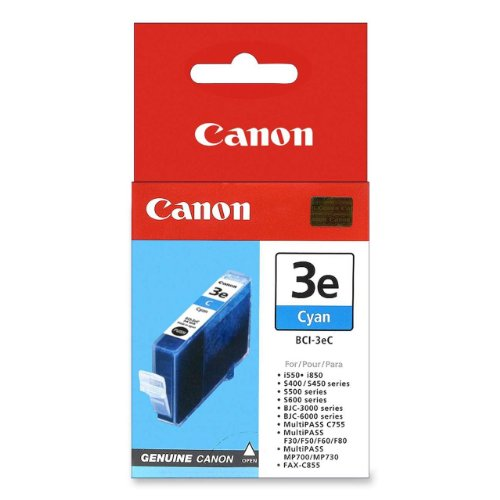 Canon Model BCI-3eC Cyan Ink Tank