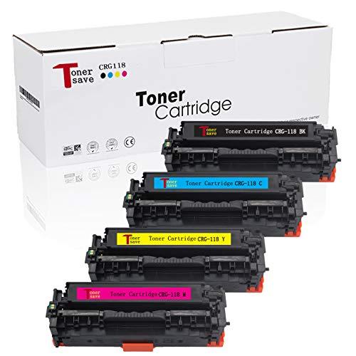 Tonersave Compatible Canon 118 Toner CRG-118 Canon Cartridge 118 Toner Canon imageClass MF8380cdw Toner,Canon MF8580cdw Toner MF726cdw Toner LBP7660CDN LBP7200CDN MF729CDW