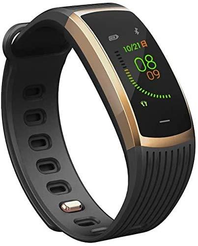 Reloj inteligente con pantalla a color, multideporte, IP67, resistente al agua, frecuencia cardíaca, presión arterial, reloj de detección de sueño, compatible con Android e iOS A-A.