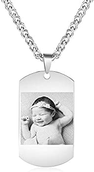 Kaululu Personalized Picture Valentines Necklace Jewelry