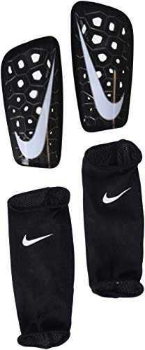 Nike Mercurial Lite Soccer Shin Guards (Large, Black)