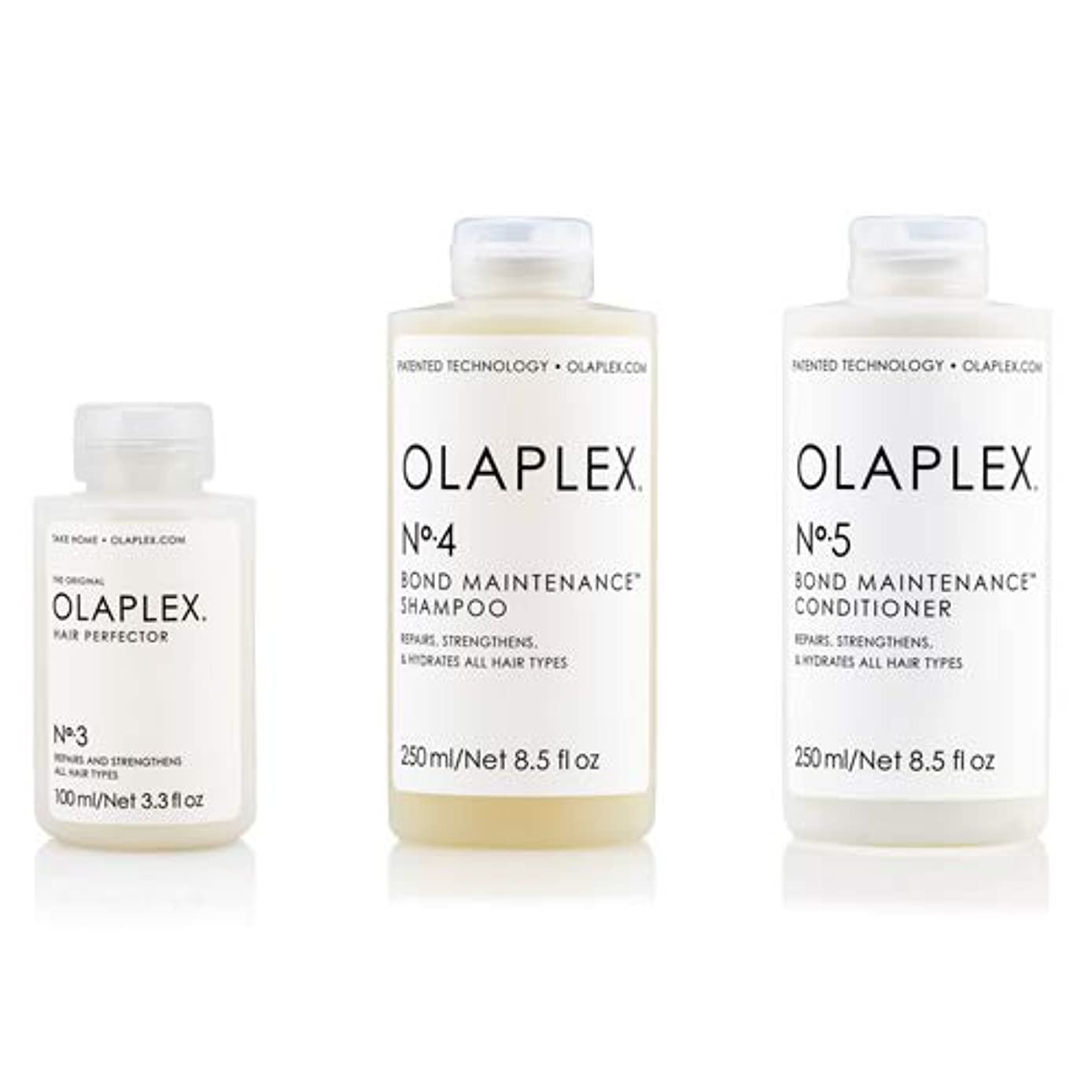 メインその結果裂け目Olaplex オラプレックス No.3 4 5 ボンド メンテナンス シャンプー&コンディショナー&ヘアパーフェクター Olaplex Bond Maintenance Shampoo & Conditioner & Hiar Perfector【並行輸入品】