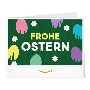 Amazon.de Gutschein zum Drucken (Frohe Ostern)