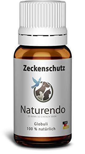 Naturtotal Anti Zecken Globuli Zeckenmittel natürlicher Zeckenschutz für Hunde und Katzen