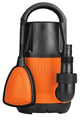 Truper BOS-1/2LP, Bomba eléctrica para agua limpia, sumergible 1/2 HP, plástica