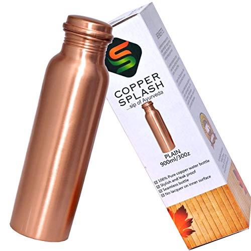Cobre–Cobre Puro botella agua–no conjunta