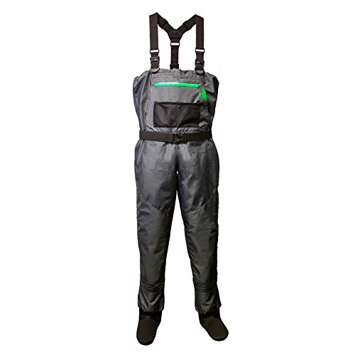 LONECONE Close Out - Size 6 Women's Deluxe Chest Waders, Ladies' Stockingfoot Fishing Waders