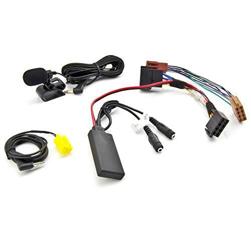 Watermark Vertriebs GmbH & Co. KG Bluetooth AUX Adapter SMART Fortwo 451 MP3 SPOTIFY FREISPRECHEN TELEFONIEREN