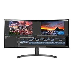 cheap LG 34WN80C-B 34 inch 21: 9 curved WQHD ultra wide IPS monitors with 99% USB Type-C sRGB …