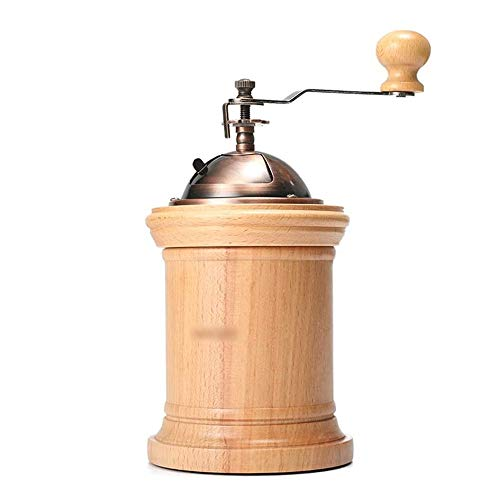 YFGQBCP Coffee Grinder Molinillos de café Manual del Grano de café Molinillo de café Tostado Amoladora Amoladora de Mano de la Molino de café