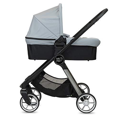 Baby Jogger Duo City Mini2 4 ruedas Slate – Cochecito + capazo – 19600 g