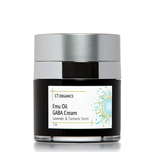 Emu Oil Face Moisturizer Anti-Aging Night Cream For Wrinkle repair, Fine Line Removal On Face And Neck With lavender Essential Oil, Jojoba Oil, Shea Butter, Turmeric, And More Organic Ingredients