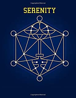 Serenity: Stress Relieving Geometric Mandala Designs Adult Coloring Book For Meditation And Happiness Coloring Book For Adults