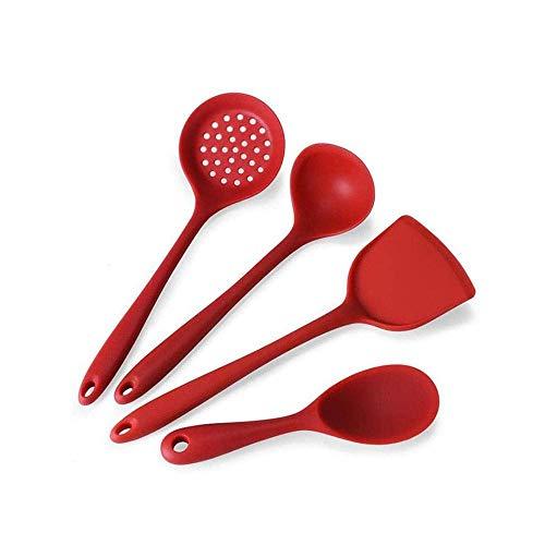 Establecimiento de utensilios de cocina de silicona resistente al calor Herramientas de cocción antiadherente Cocina Herramienta para hornear Kit Utensilios Accesorios de cocina lucar