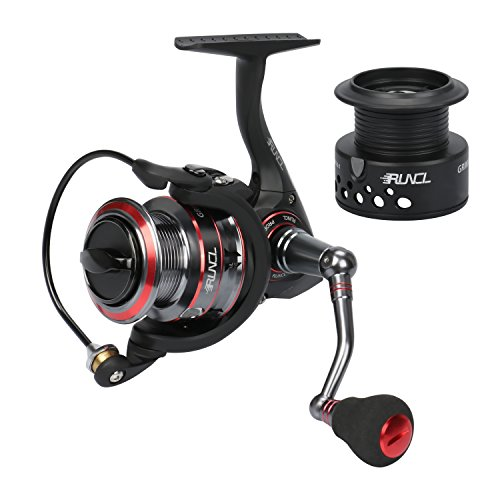 RUNCL Spinning Reel Grim II, Fishing Reel with...