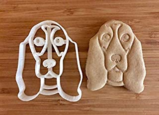 Basset Hound Cookie Cutter and Dog Treat Cutter - Dog Face