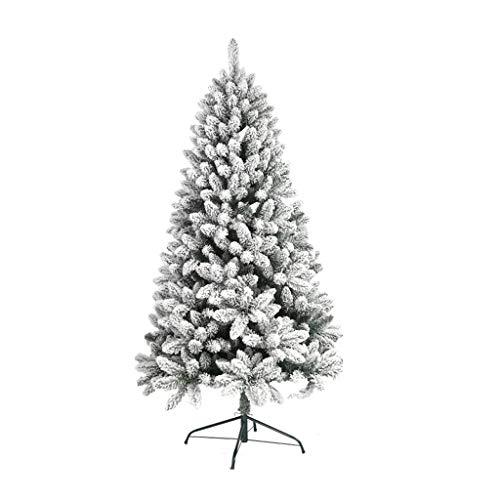Sapin de Noël Arbre de Noël - White Christmas Tree Mall Boutique Famille Décoration de vacances Décorations de Noël Simulation Cedar Flocage Sapin de Noël (Multi Size Selection) (taille : 90cm)
