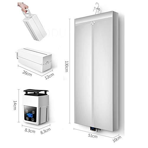 CX Best Kleidung Trockner bewegliche hängende Wäschetrockner Faltbare Smart Touch Screen Control Temperiergeräte Schranktrockner