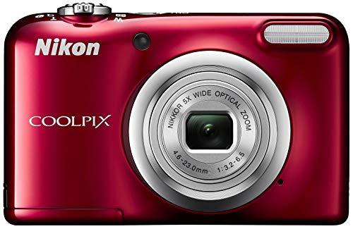 Nikon COOLPIX A10 Fotocamera compatta 16,1 MP CCD 4608 x 3456 Pixel 1 2.3  Rosso